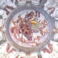 Painted ceiling in Florence